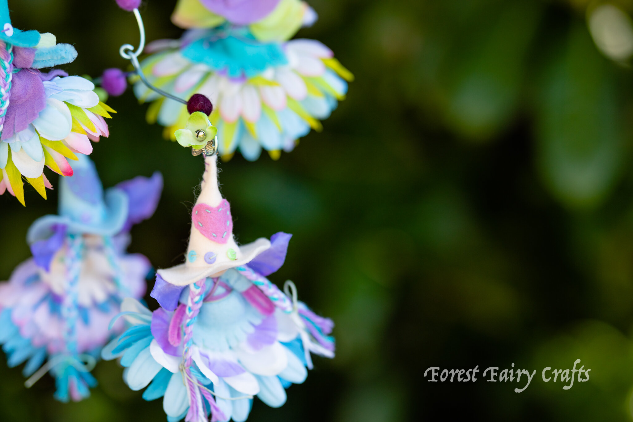 Fairy witch | Directions are in the Forest Fairy Crafts book by Lenka Vodicka-Paredes and Asia Currie