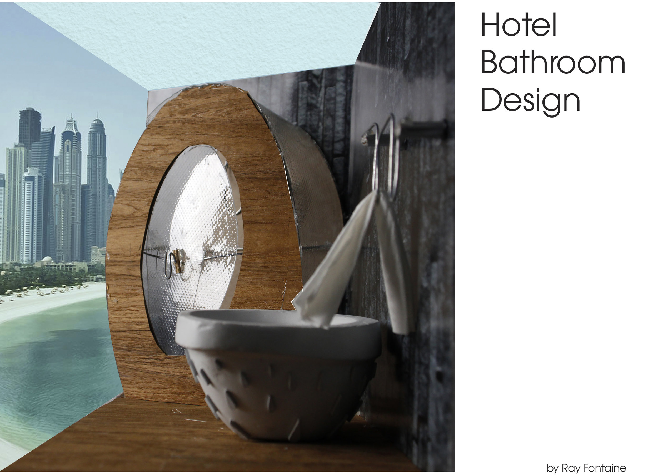 Designed for a new ornate luxury hotel in Dubai with views overlooking the beach and skyline, the FLUIDITY bathroom fixtures embody the water and riches surrounding this port city.