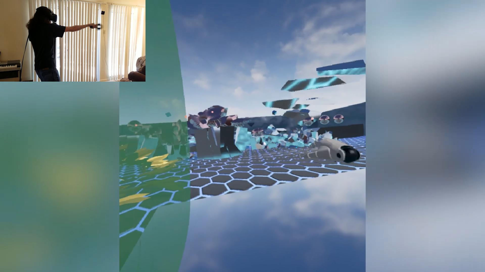 Mirror Game:A screenshot from NovaKitten's Mirrors video