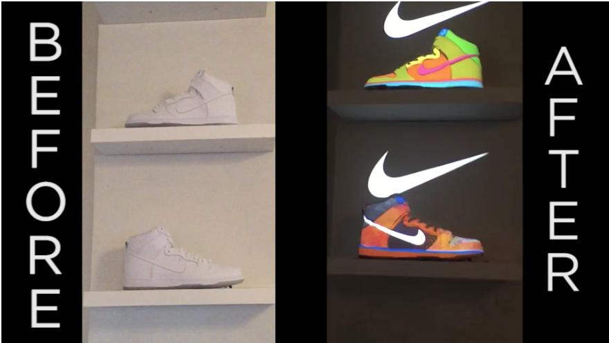 Bravo Media Studios: Nike Projection Mapping
