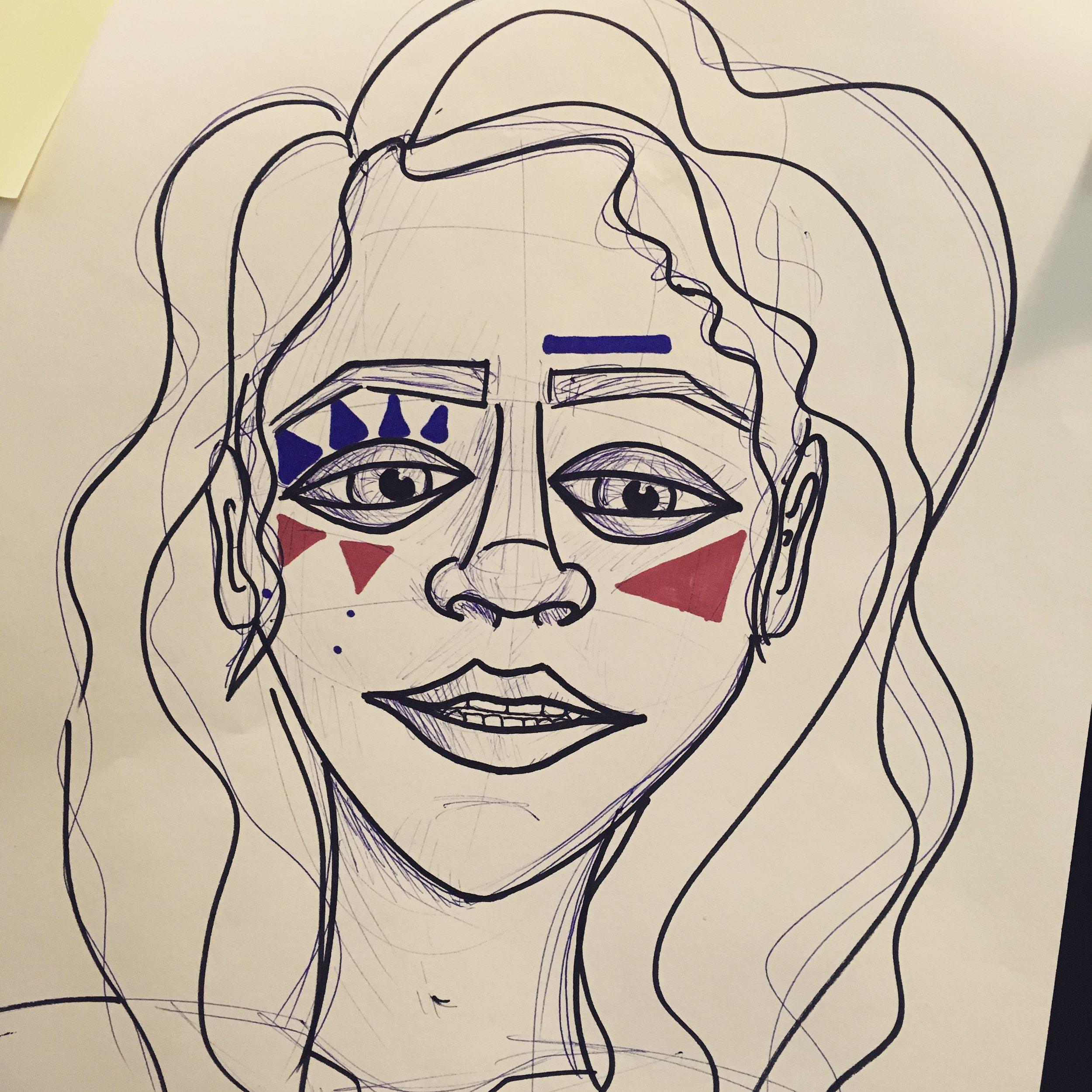 Face Paint Concept