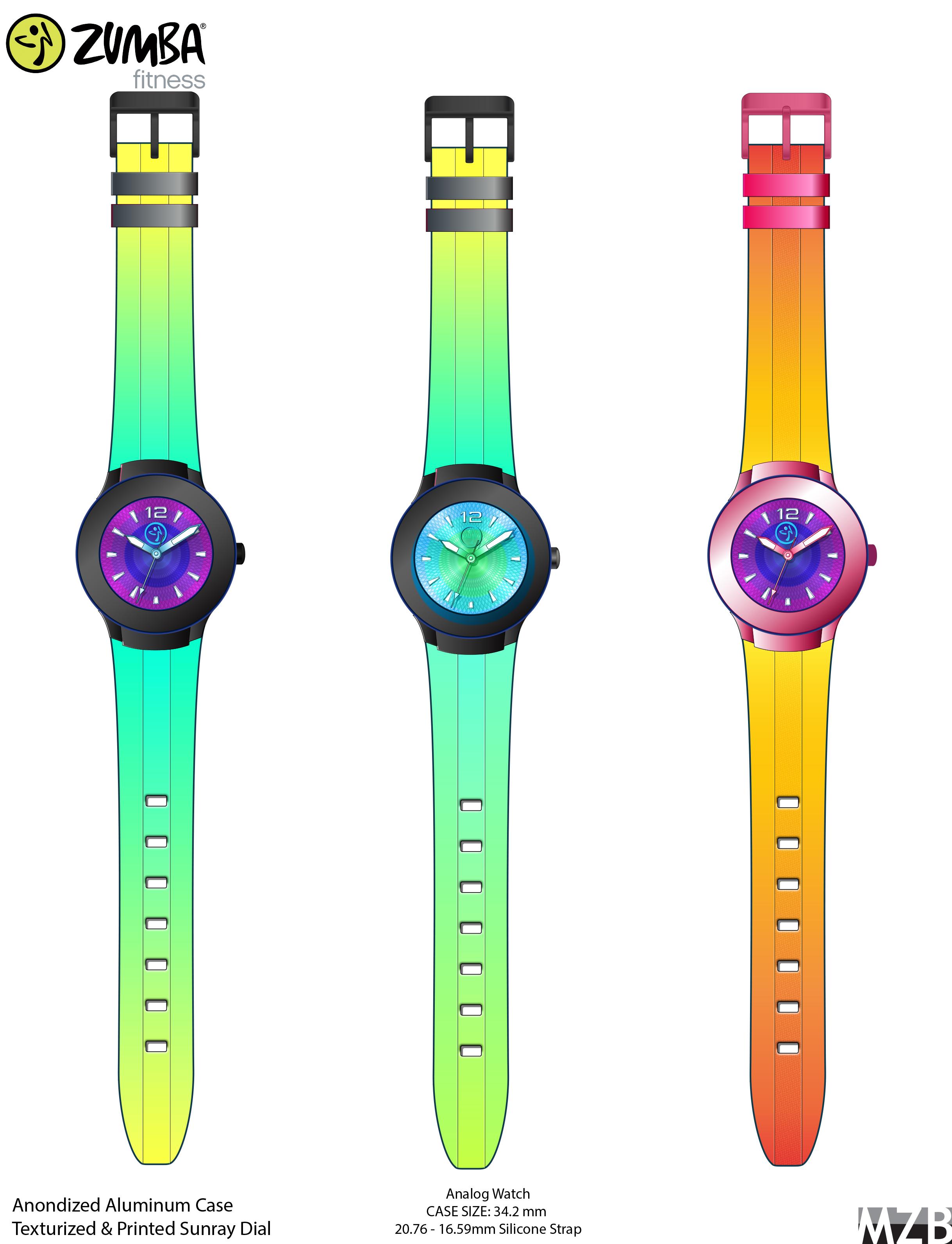 Rainbow Zumba Design