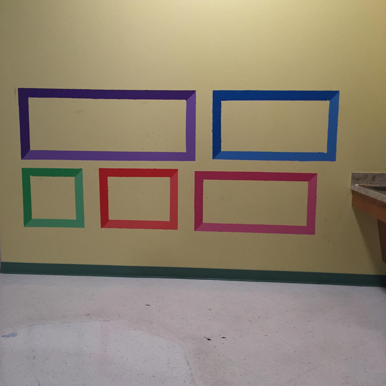 Painting began on April 17