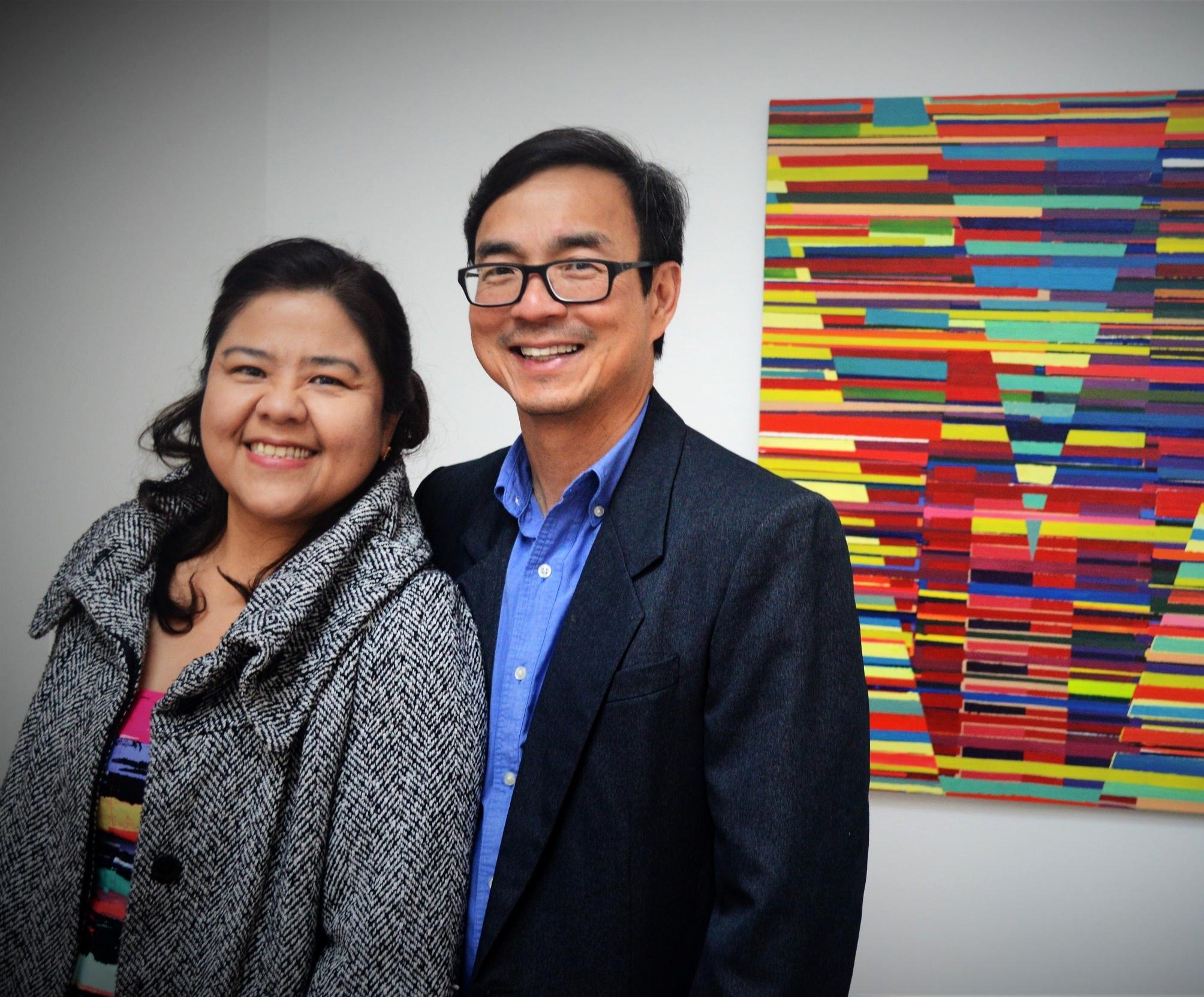Rob & Annette Gan, parents of Alumni Alyanna