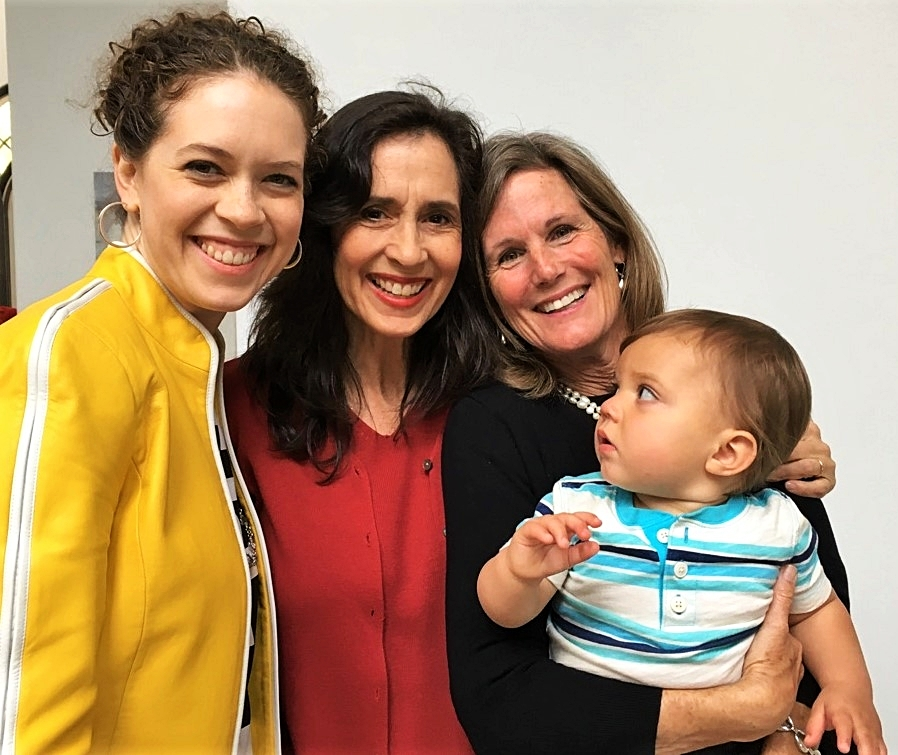 Angie & her mom from AZ, Julia & grandson