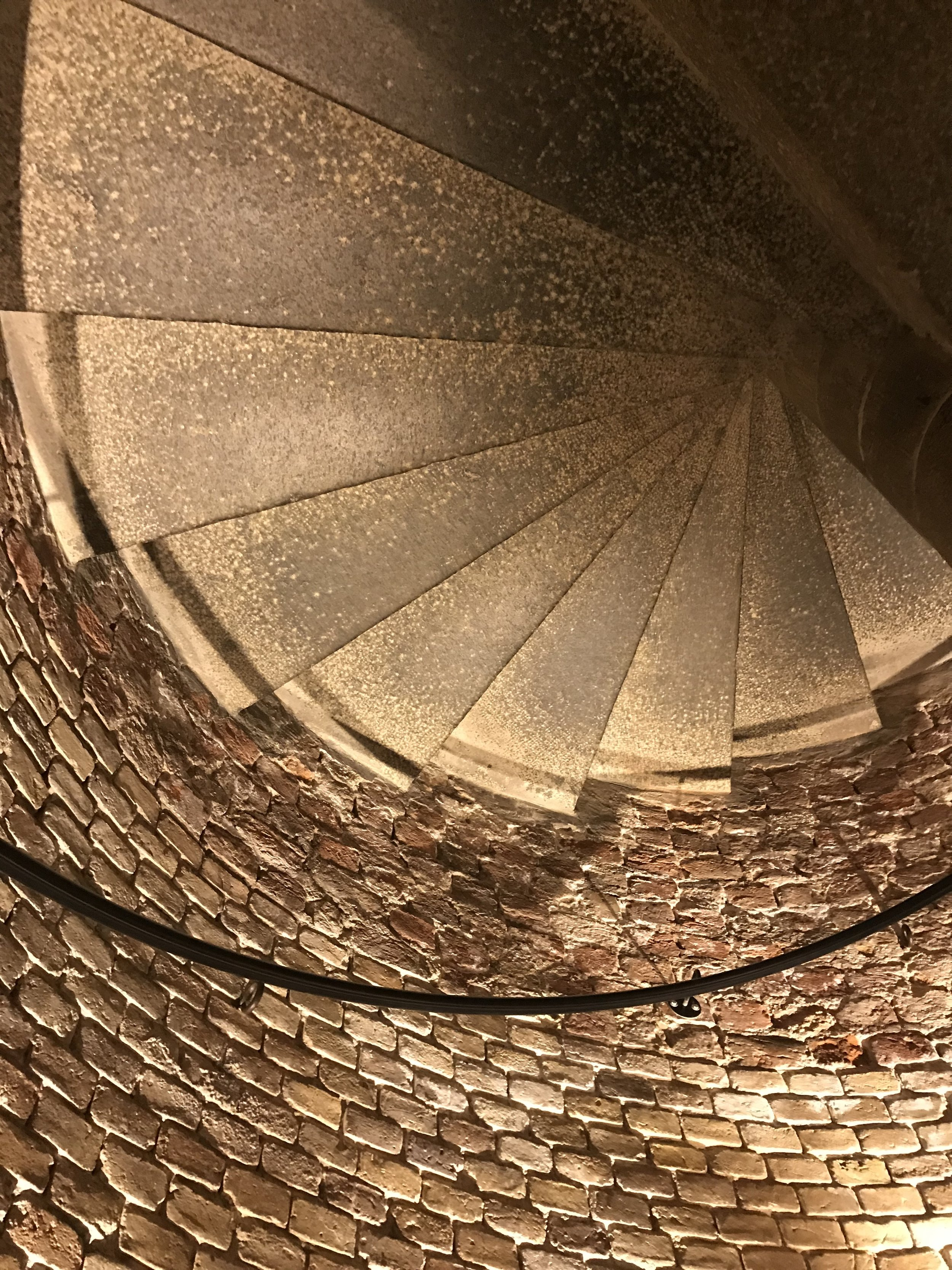 Stairway to heaven (Bell tower stairs, Viborg Cathedral)