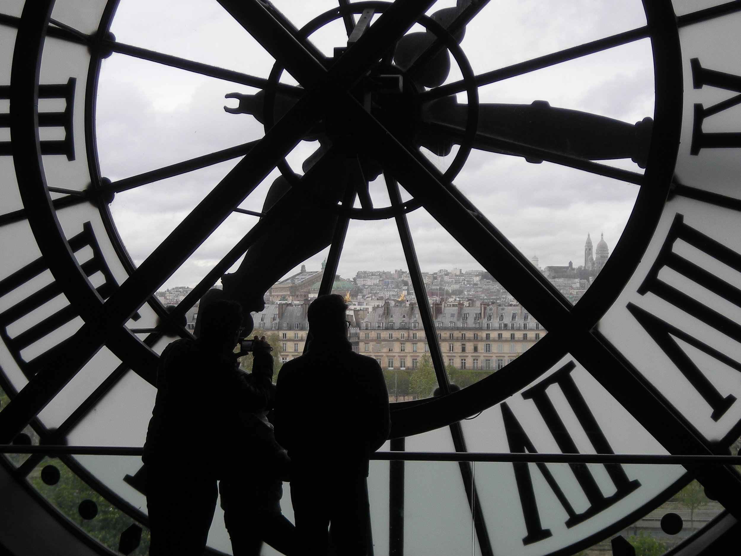 Paris Clock Photo: Tom Pierson