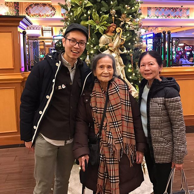 Happy mom's day to all the bad ass women out there. 💪  Extra shout-out to grandma who passed away recently at the beautiful full age of 91. Thanks for showing me love through your good cooking and simple directives (eat more, be good to family). We couldn't speak with one another because of our language barrier, but I appreciated you showing me love without needing to be complex.  Love you lots, hope wherever you are there's unlimited baccarat and pai gow and you're always winning and I'll see you there someday.