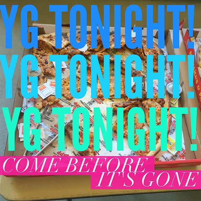 #YG Youth Group tonight! See y'all here tonight! You know where...