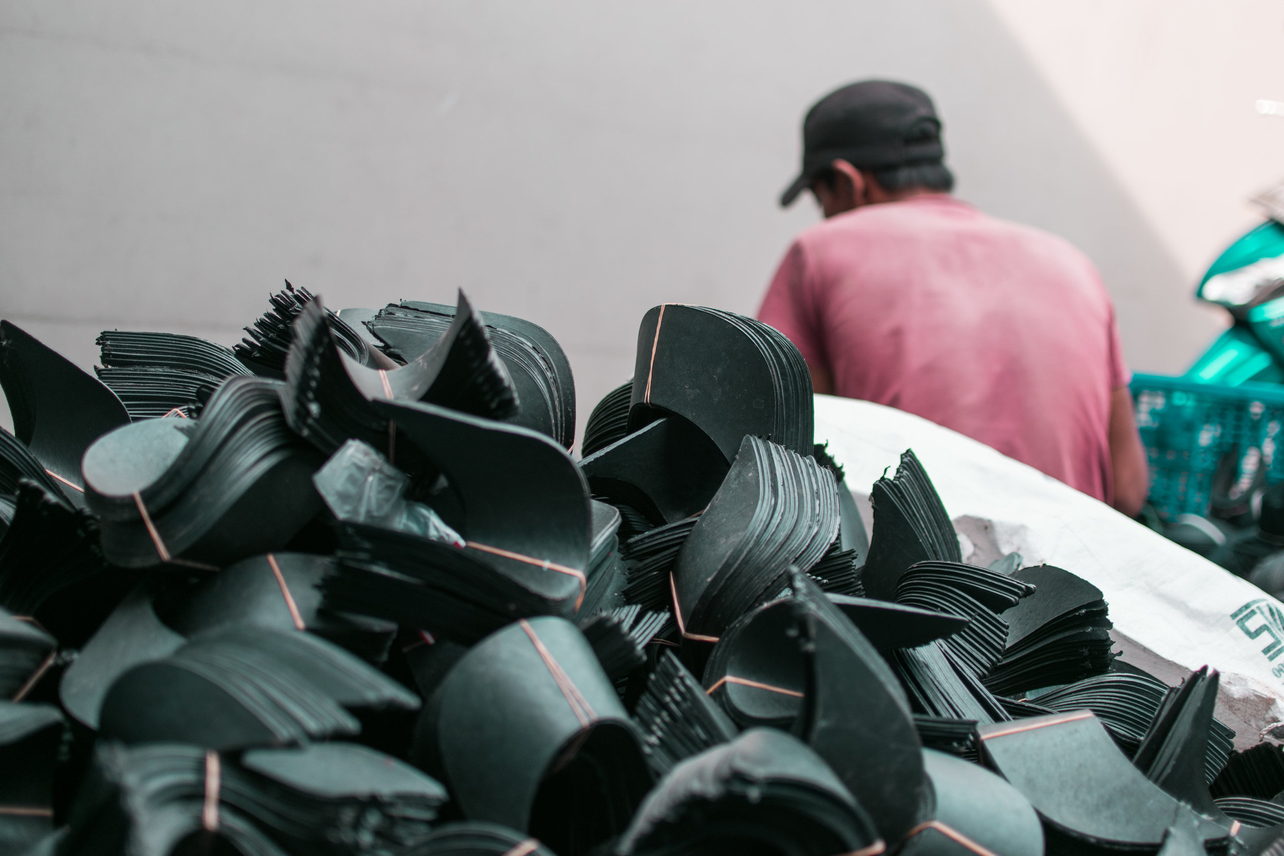 HDPE PLASTIC RECYCLING – BUCKET TO BRIM