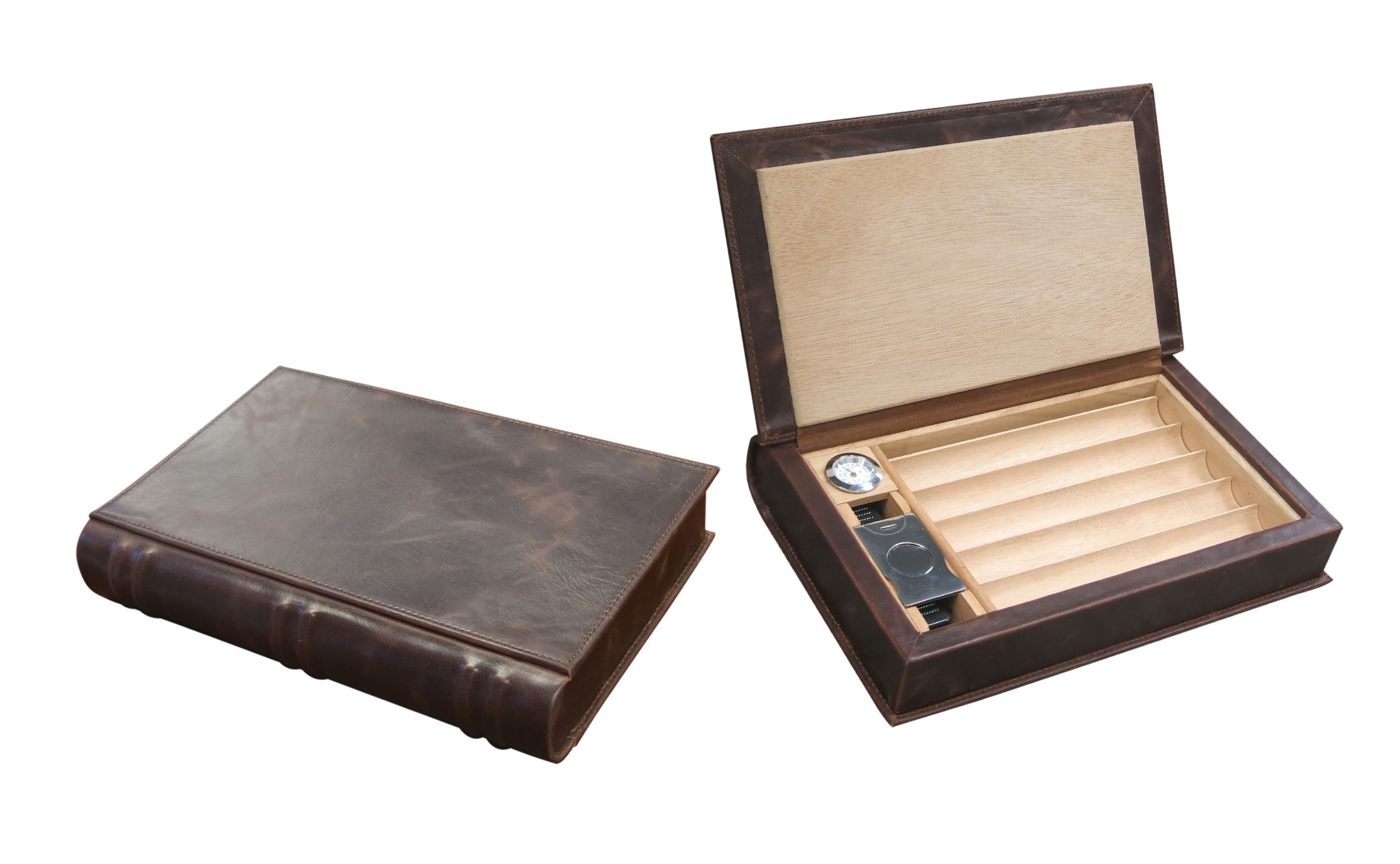 NVLST Leather Humidor