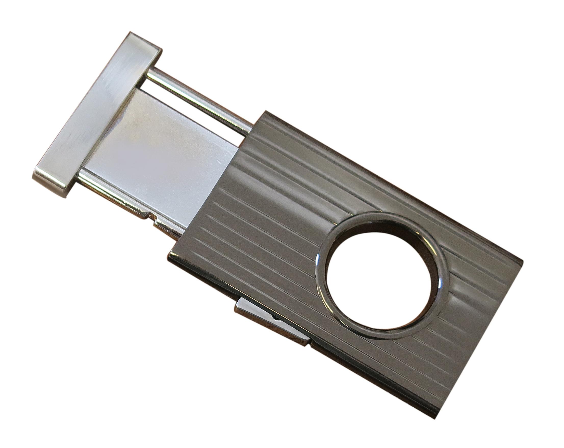GC351 Gun Metal & Chrome or Silver Retractable Cutter