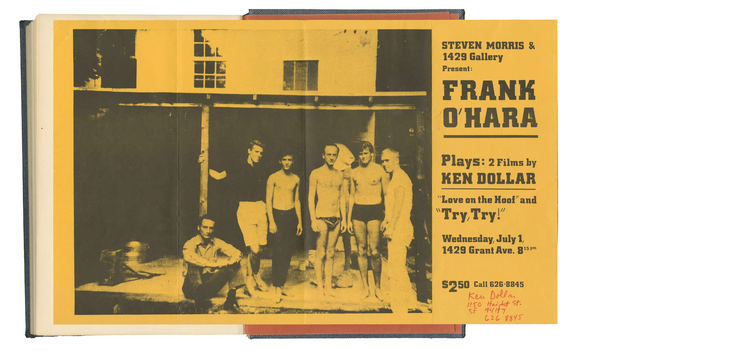 A Frank O'Hara Notebook by Bill Berkson — GENERAL WORKING GROUP