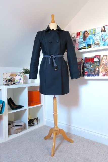 Coat Tutorial Belt Image from Sincerely Yours, Susie Blog