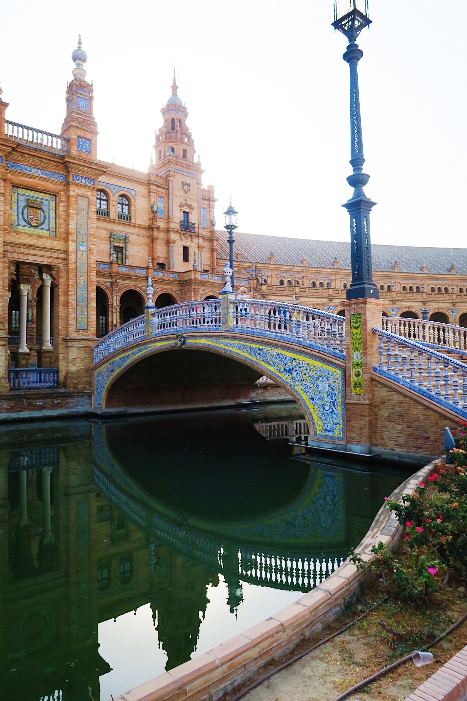 Beautiful portrait Plaza de espana in Seville from Sincerely Yours Susie blog. Photo credit Susie Cormack Bruce
