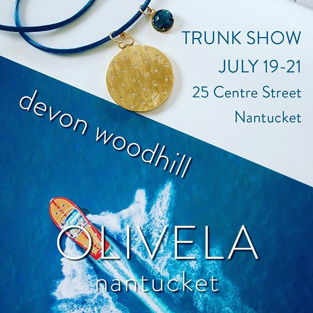 bACK on Friday - new LOCATION - see you there @olivela % of sales go to girl's education.  Do good.  #nantucket #nantucketisland #nantucketstyle #jewelry #lockets #locketsandcharms