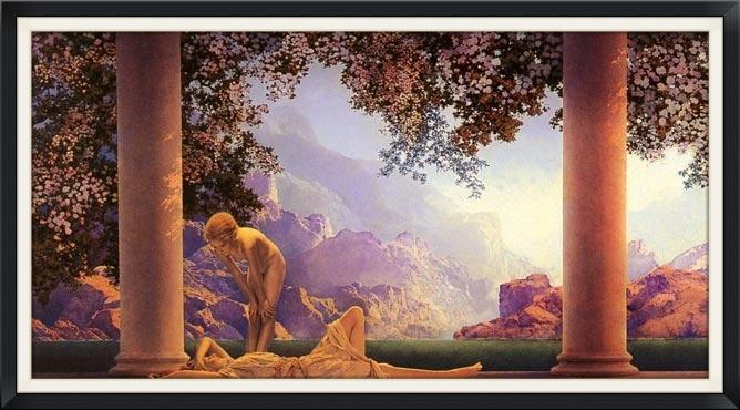 Maxfield Parrish,  Daybreak