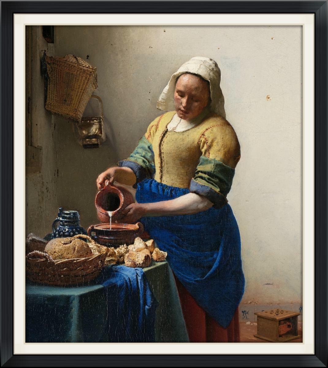 Jan Van Der Meer,  The Milk Maid
