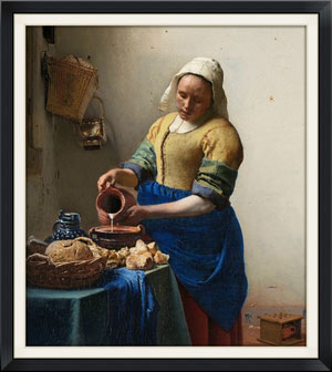 - Jan Van Der Meer, The Milk Maid