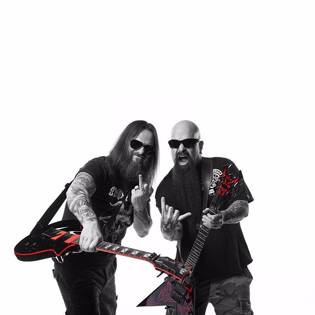 Gary Holt and Kerry King -  Photo by the awesome @ndrewstuart photography