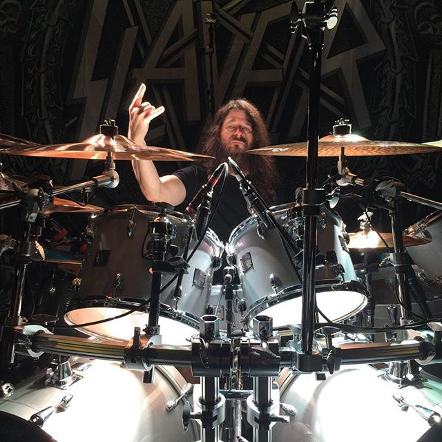 @paulbostaphofficial during soundcheck in Asheville NC July 28th.
