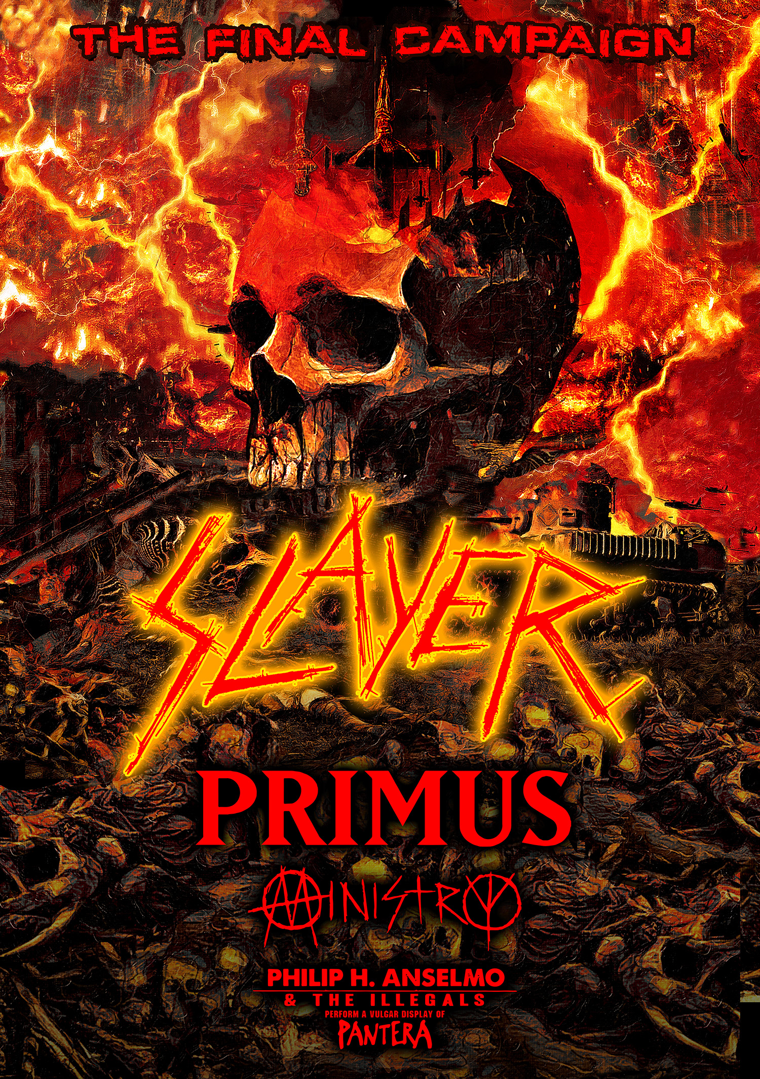 Slayer Tour 2019 SLAYER   announces