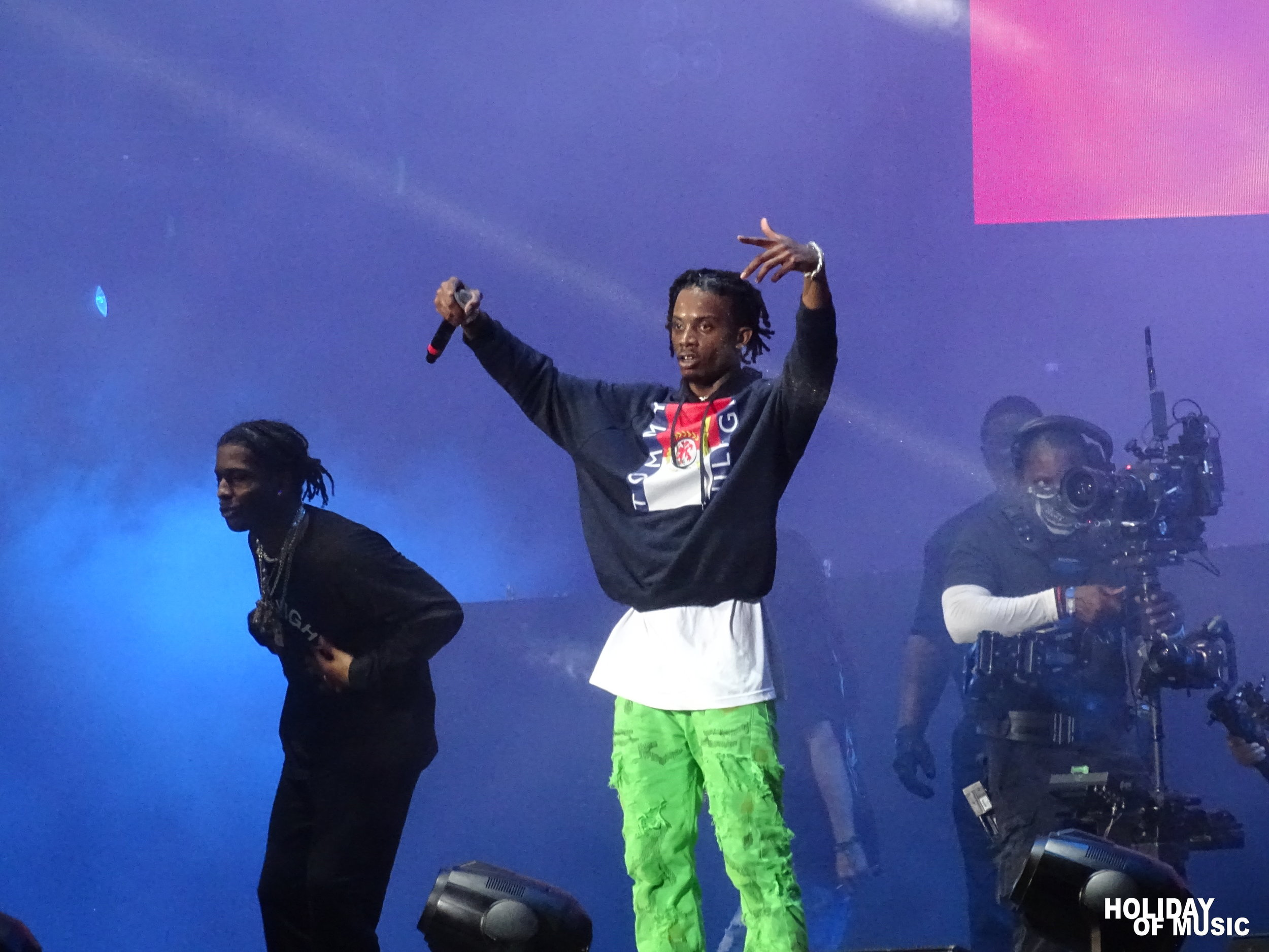 Playboi Carti and A$AP Rocky - Rolling Loud 2018
