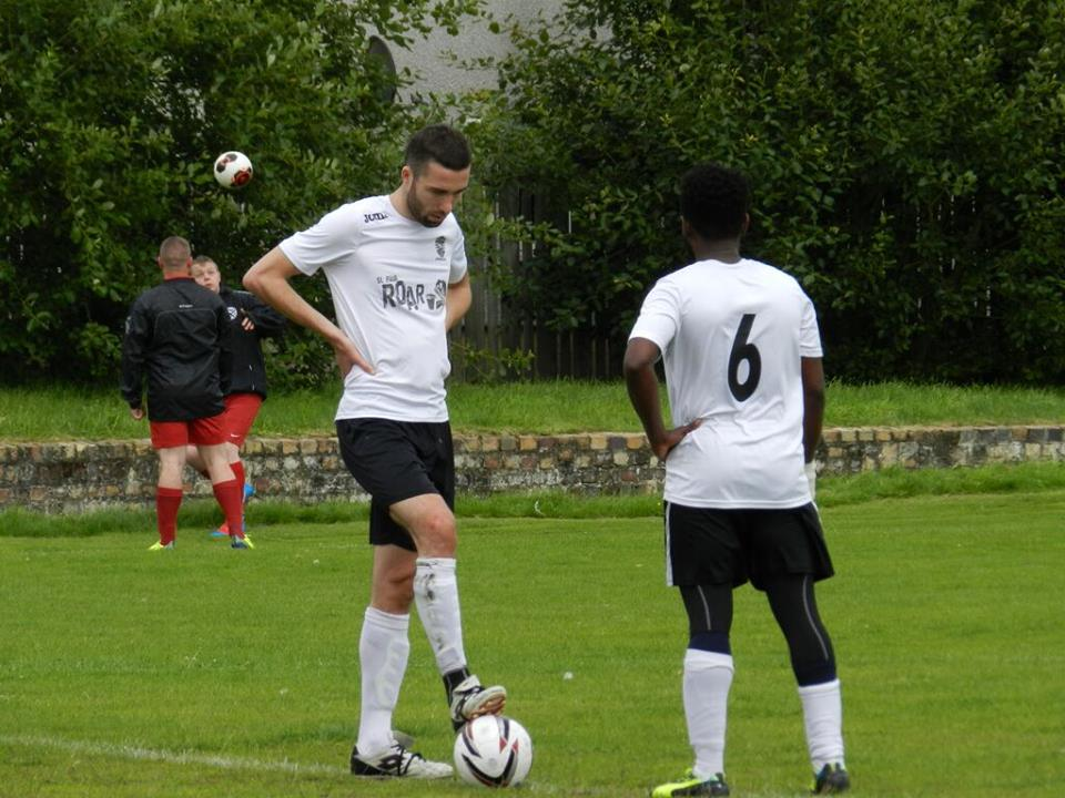 Sean Kavanagh Sproull scored over 30 goals for United last season,and opened his account for the new season with United's second goal of the day vs Inchinnan Valley. Sean was also voted Player of the Match