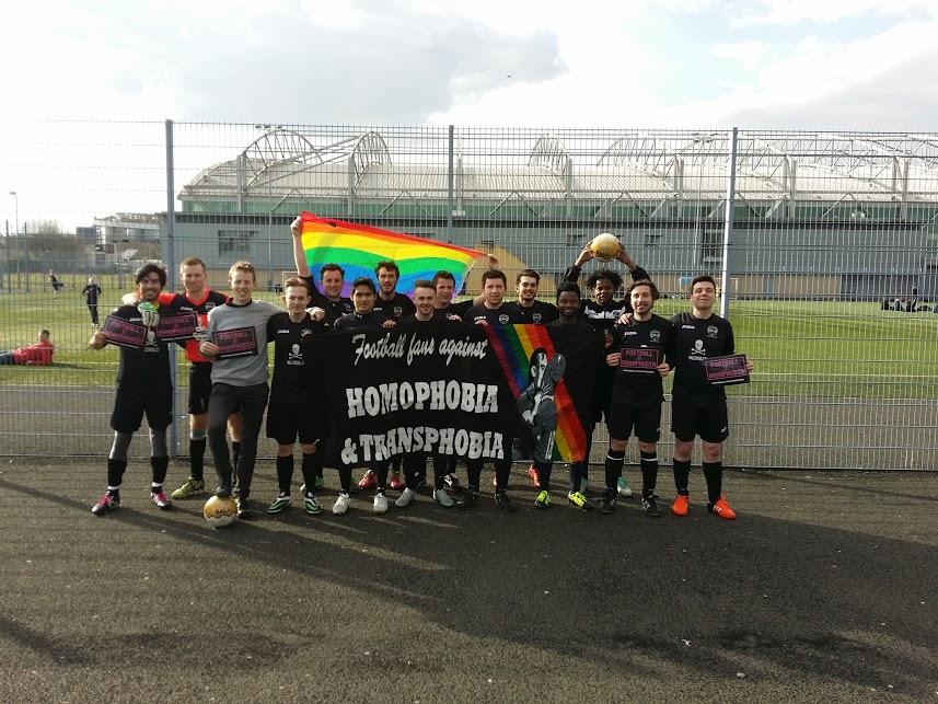 United Glasgow Football Club - Proud to Support Football vs Homophobia