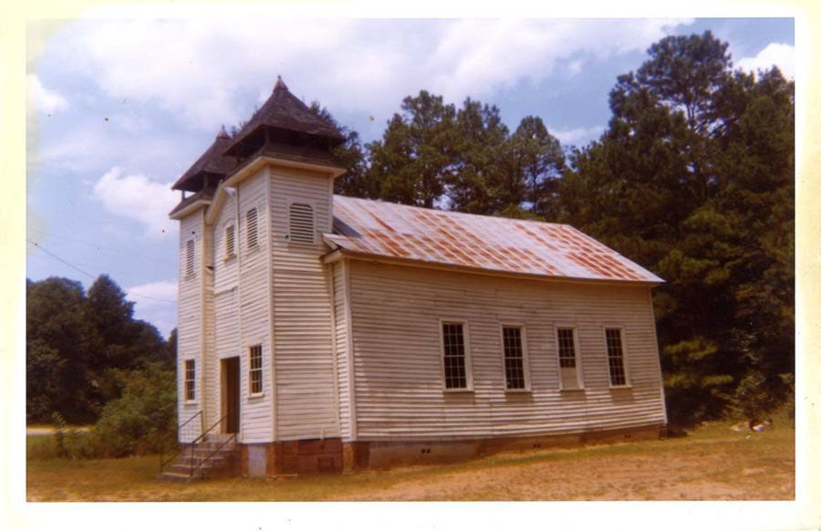 Church, Sprott, AL, 1974 by William Christenberry