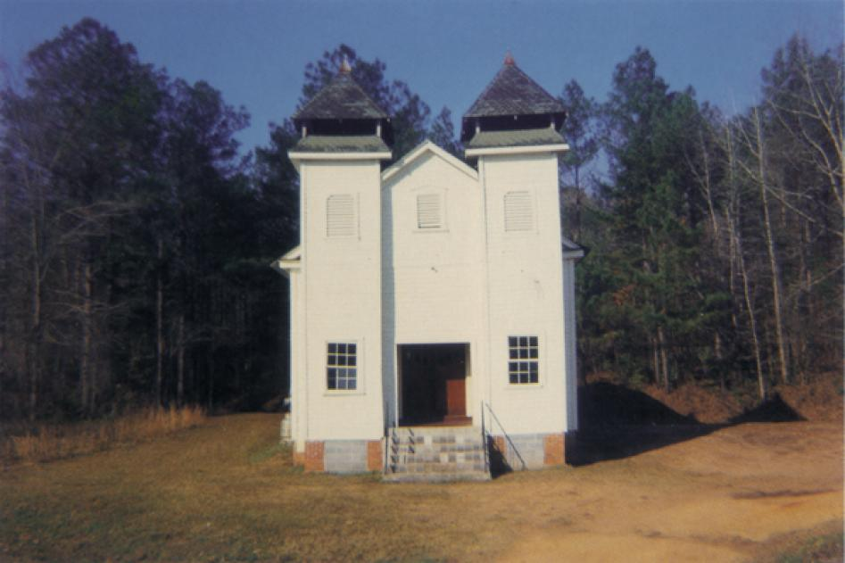 Church, Sprott, AL, 1971 by William Christenberry