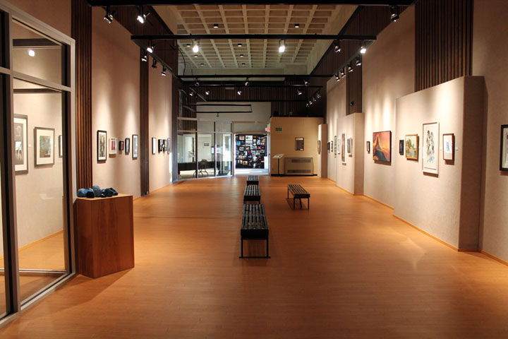 The Hand Magazine Exhibition, Potter Gallery Missouri Western State University, St. Joseph, MO. 12, 2015. Image by Adam Finkelston