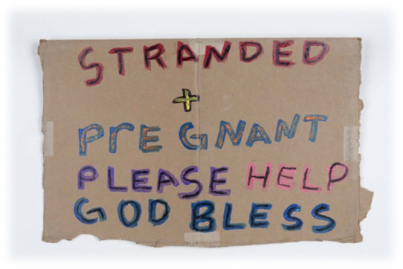 Stranded and Pregnant | 2015 | Andres Serrano