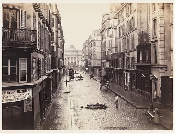 Charles Marville,  Rue de Constantine , ca. 1865 [4]
