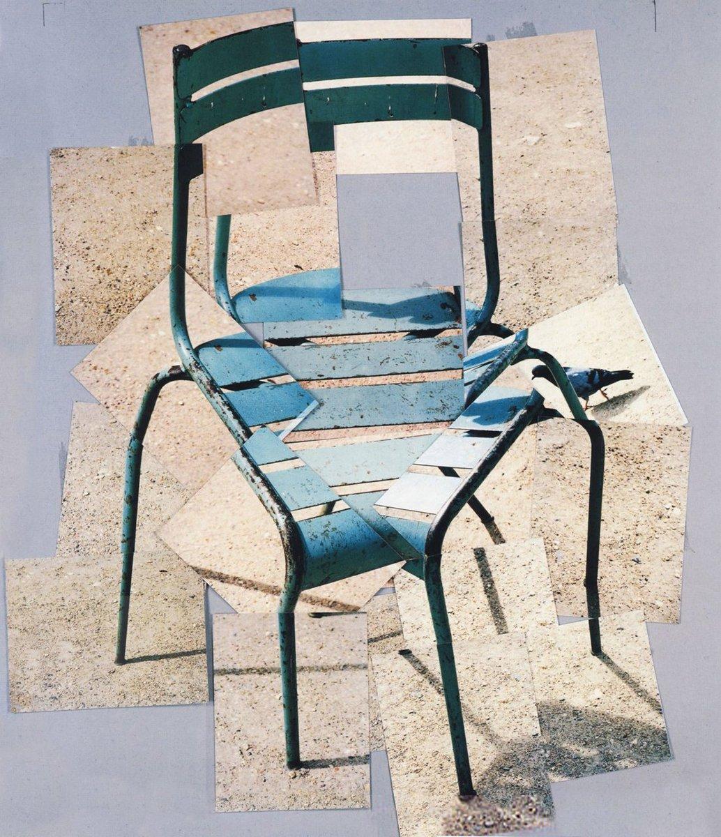 David Hockney, A Chair Jardin du Luxembourg'