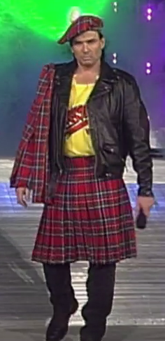 Bischoff is somehow even less Scottish than Rowdy Roddy Piper.