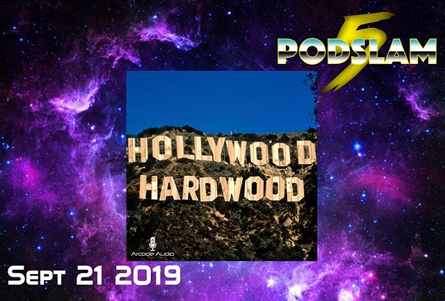 After making their debut last year, Hollywood Hardwood is back for more movie plot & jump shot trivia to raise money for @ConnorsCure at #Podslam19.On 9/21 at @iochicago help us make our $5000 goal a slam dunk by going to http://arcadeaudio.net/podslam for donations, tickets and more! #ConnorsCure #podslam #jimmyv #podcast #chicago #charity