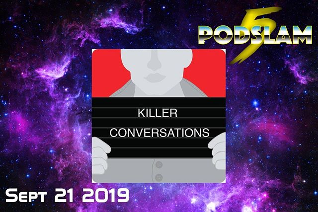@britbookbinder is ready to summon some of history's most infamous...problem-solvers during her show Killer Conversations on 9/21 as part of #Podslam19!Join us at @iochicago and help us CRUSH our $5000 goal! Go to arcadeaudio.net/podslam for donations, tickets and more info! #ConnorsCure #podslam #jimmyv #podcast #chicago #charity