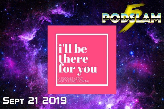 I'll Be There For You makes their #Podslam debut as host @lindsayeanet shows us the healing power of pop culture!On 9/21, be there for us at @iochicago to help CRUSH our $5000 goal for @connorscure! Go to arcadeaudio.net/podslam for donations, tickets and more info! #Podslam19 #ConnorsCure #podslam #jimmyv #podcast #chicago #charity