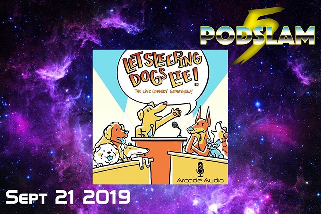 We're not lying when we say we can't wait to have the live game show @lsdlshow as part of #Podslam19. On 9/21 at @iochicago help us CRUSH our goal for @connorscure! For donations, tickets and many more treats, go to http://arcadeaudio.net/podslam! #ConnorsCure #podslam #jimmyv #podcast #chicago #charity