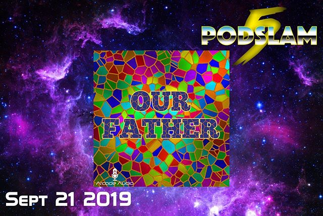 At #PodSlam19, Our Father will take us to church (sans @hozier) LIVE at @iOChicago. On 9/21, help us CRUSH our goal of $5000 for @ConnorsCure and excommunicate cancer forever! You can donate, buy tickets and get all the info on #Podslam RIGHT NOW at http://arcadeaudio.net/podslam #ConnorsCure #podslam #jimmyv #podcast #chicago #charity