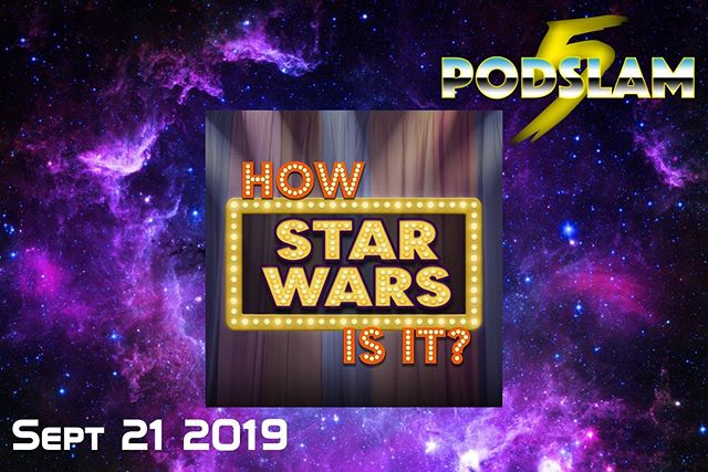 In a podcast marathon far far away (well @iOChicago), @howstarwarsisit will answer the galaxy's most important question..How Star Wars Is It? On 9/21 at #Podslam19, help us CRUSH our goal of $5000 for @ConnorsCure. For donations, tickets & more, go to http://arcadeaudio.net/podslam #ConnorsCure #podslam #jimmyv #podcast #chicago #charity
