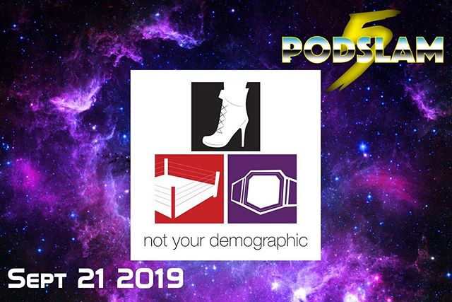 In need of smart, hilarious & off-the-wall wrestling opinions? Not Your Demographic is the perfect match for #Podslam19's demo!On 9/21 at @iochicago, help us meet our goal of $5000 for @ConnorsCure! For donations, tickets and everything else you need. go to http://arcadeaudio.net/podslam #ConnorsCure #podslam #jimmyv #podcast #chicago #charity
