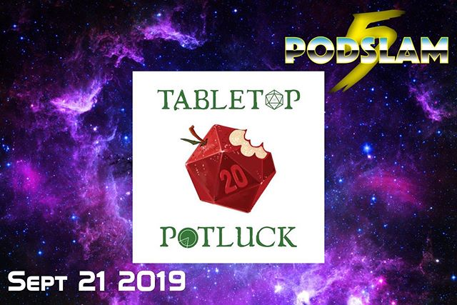 Don't hate the player OR the game when @TabletopPotluck comes to @iochicago for #Podslam19!On 9/21, it's time to play the game and raise $5000 for @ConnorsCure!Give donations, buy tickets and everything else you need at http://arcadeaudio.net/podslam #ConnorsCure #podslam #jimmyv #podcast #chicago #charity