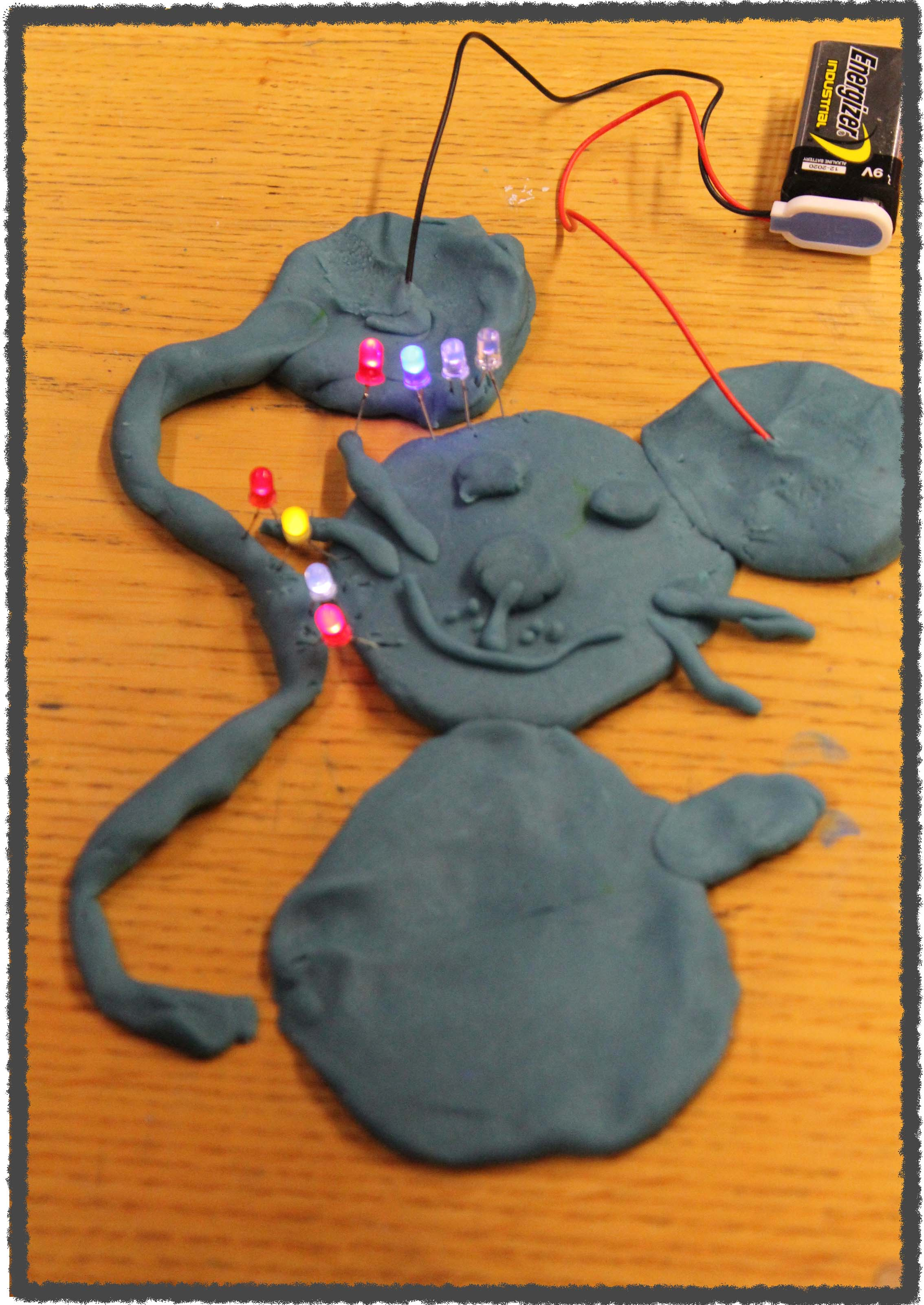 STEAM Education: Explore circuit building with conductive clay and LEDs