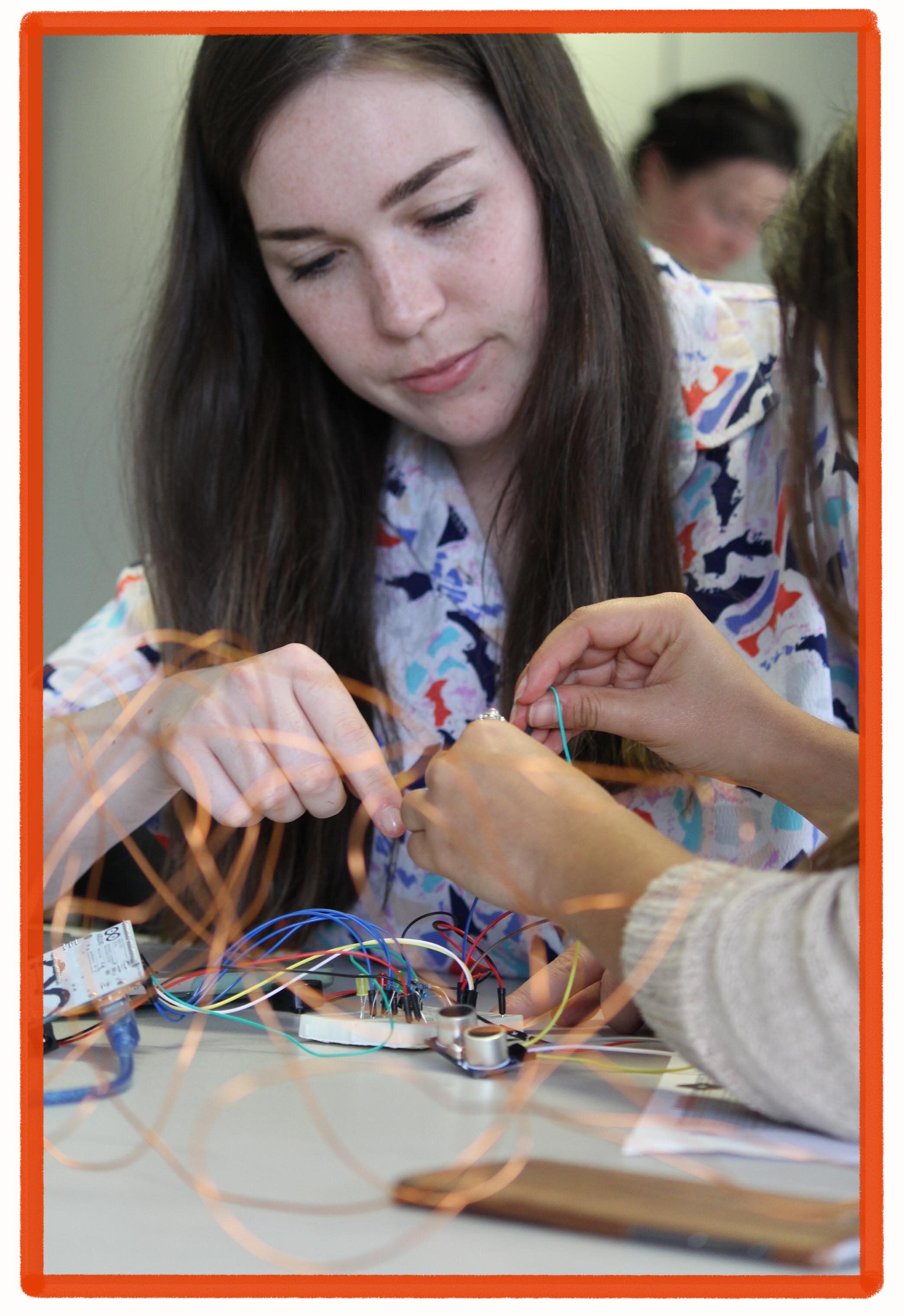 Arduino: A Maker Approach to Art & Interactivity Workshop