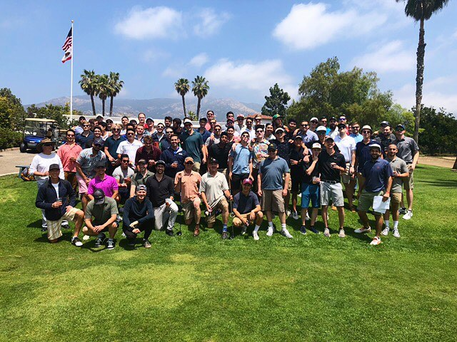Big shout out to our awesome alumni for the biennial golf trip🏌🏼‍♂️ #rahrahdelta