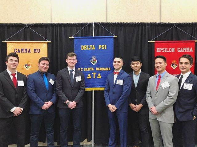 Proud of these gentlemen going out to the Western Pacific Divisional Conference to represent Delta Psi. What a great day to be a Delt! #RAHDELT