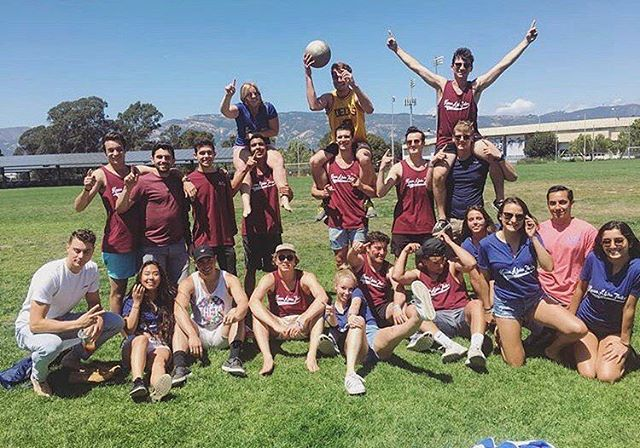 #1 in kickball, and #1 in philanthropy 🥇 thank you @ucsbtheta for hosting an fun philanthropy for CASA!