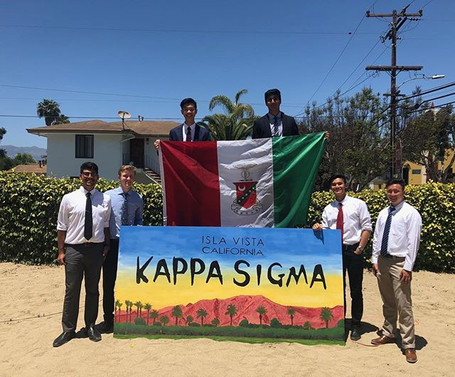 Congratulations to our newly initiated Kappa class! Welcome to the brotherhood #AΕΚΔΒ